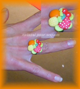 Bague salade de fruits