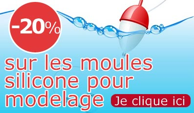 PROMOTIONS Moules silicone pour modelage