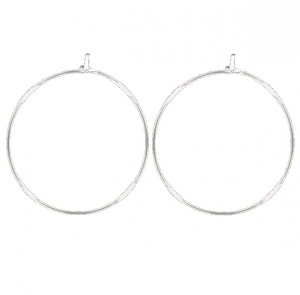 Lot de 2 supports boucles d'oreilles creoles