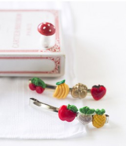 Barrettes multi-fruits