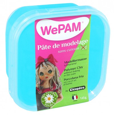 WePAM Turquoise - porcelaine froide à modeler